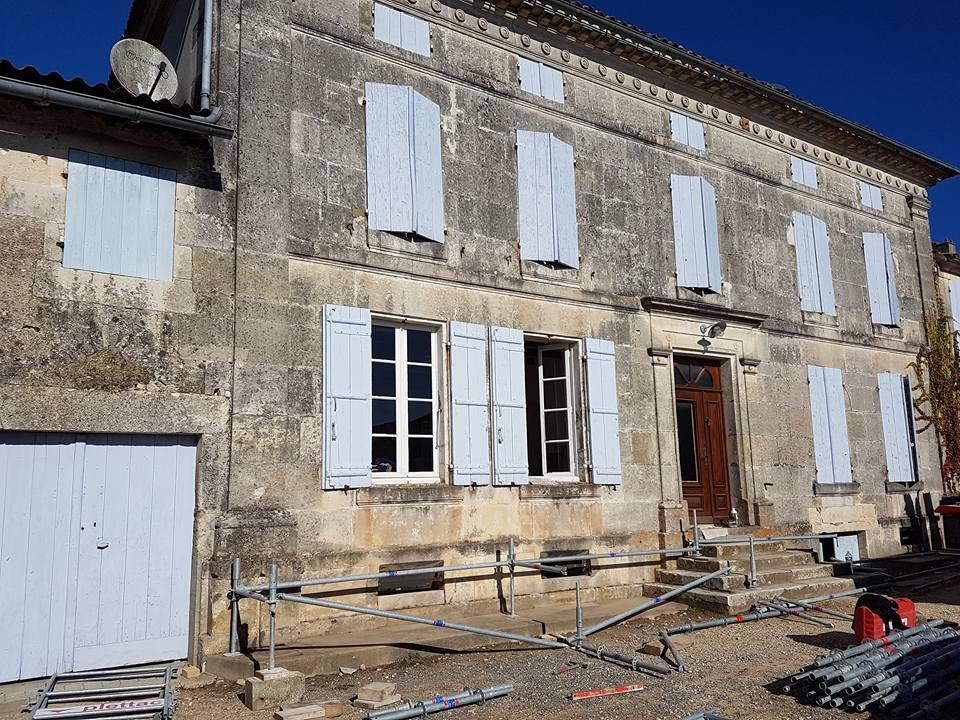 Ravalement de façades Charente Maritime avant