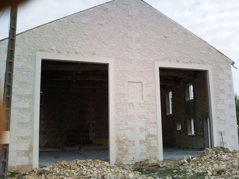 Ravalement de façades à Saintes